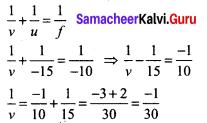Questions On Reflection Of Light Class 9 Samacheer Kalvi Chapter 6