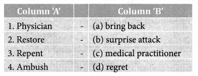 The Three Questions Book Back Answers Samacheer Kalvi 8th English Solutions