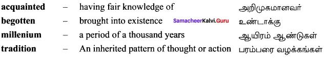 12th English Unit 5 Prose The Chair Book Back Answers Samacheer guru