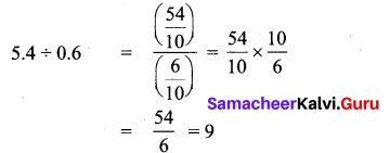 Samacheer Kalvi 7th Maths Solutions Term 3 Chapter 1 Number System 1.4 6