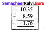 Samacheer Kalvi 7th Maths Solutions Term 3 Chapter 1 Number System 1.5 2