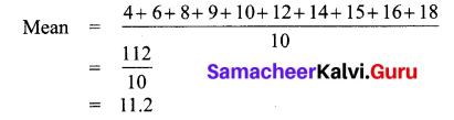 Samacheer Kalvi 7th Maths Solutions Term 3 Chapter 5 Statistics Ex 5.4 12