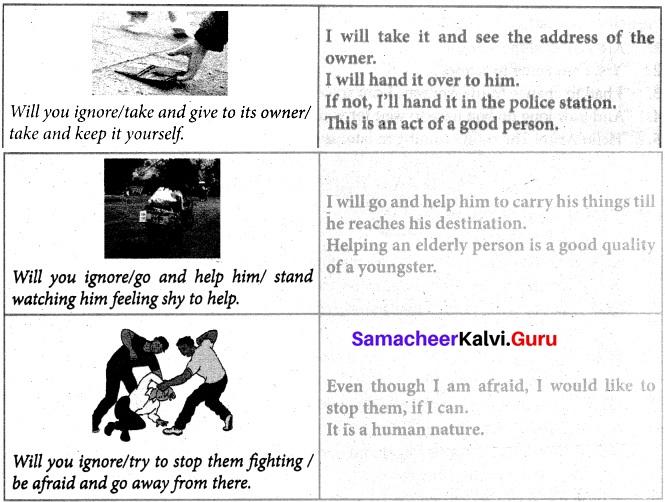 Samacheer Kalvi 8th English Solutions Term 3 Supplementary Chapter 1 The Woman on Platform 8