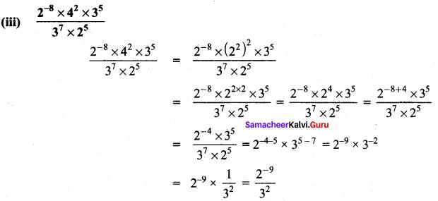 Exercise 1.4 Class 8 Maths Term 3 Samacheer Kalvi