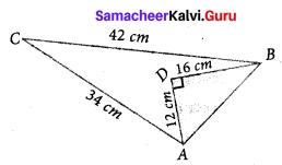 Exercise 7.1 Class 10 Samacheer Kalvi