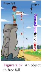 11th Physics Kinematics Samacheer Kalvi