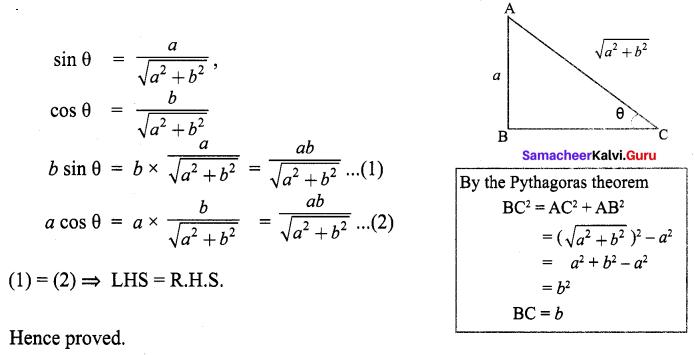 9th Maths Exercise 6.1 Samacheer Kalvi