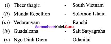 Samacheer Kalvi 10th Social Science Model Question Paper 4 English Medium - 1