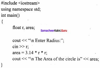Samacheer Kalvi Computer Science 11th Chapter 9