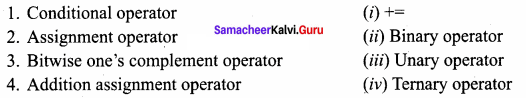 Samacheer Kalvi.Guru 11th Computer Science Chapter 9