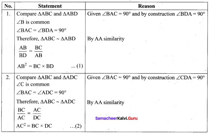 Tamil Nadu 10th Maths Model Question Paper 1 English Medium - 12