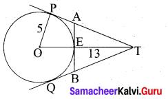 Tamil Nadu 10th Maths Model Question Paper 4 English Medium - 12