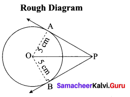 Tamil Nadu 10th Maths Model Question Paper 4 English Medium - 22