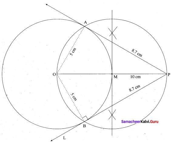 Tamil Nadu 10th Maths Model Question Paper 4 English Medium - 23