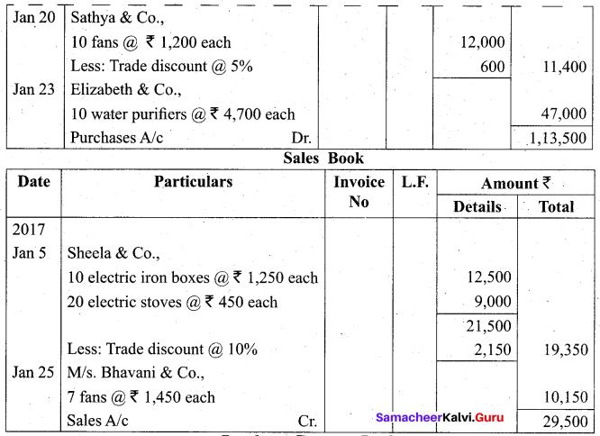 Tamil Nadu 11th Accountancy Model Question Paper 1 English Medium - 24