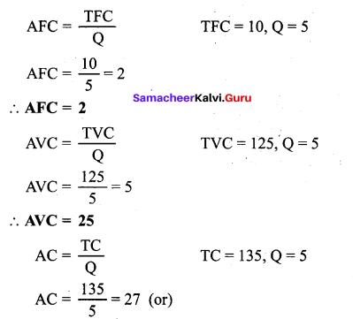 Tamil Nadu 11th Economics Model Question Paper 3 English Medium - 13