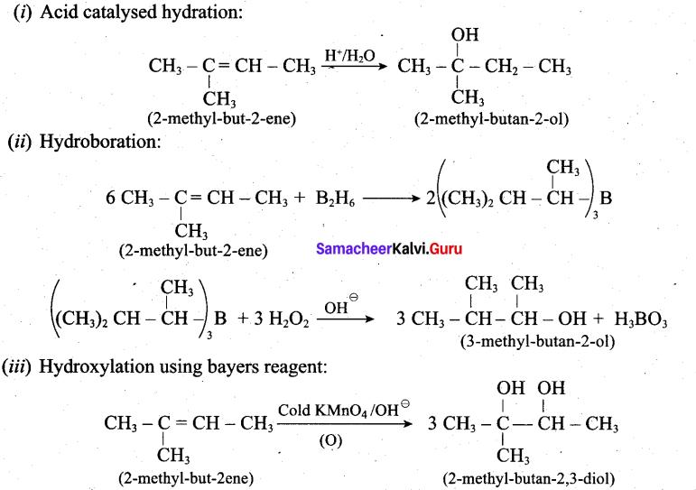 Tamil Nadu 12th Chemistry Model Question Paper 1 English Medium - 16