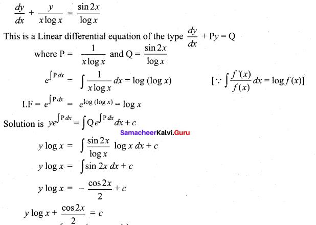Tamil Nadu 12th Maths Model Question Paper 1 English Medium - 31