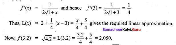 Tamil Nadu 12th Maths Model Question Paper 3 English Medium - 10(i)