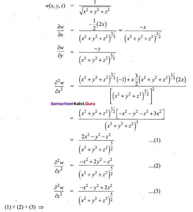 Tamil Nadu 12th Maths Model Question Paper 3 English Medium - 55