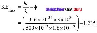 Tamil Nadu 12th Physics Model Question Paper 1 English Medium - 2