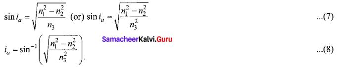 Tamil Nadu 12th Physics Model Question Paper 4 English Medium - 23