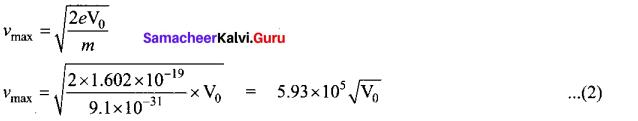 Tamil Nadu 12th Physics Model Question Paper 4 English Medium - 25