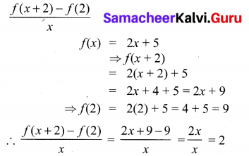 10th Maths 1.3 Solution Samacheer Kalv Chapter 1 Relations and Functions