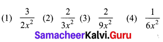 Samacheer Kalvi 10th Maths Chapter 1 Relations and Functions Ex 1.6 2