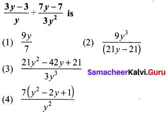 10th Maths Exercise 3.19 Answers Samacheer Kalvi