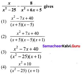 Exercise 3.19 Class 10 Samacheer Kalvi 10th