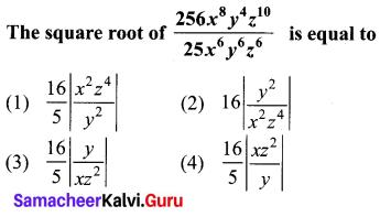 10th Maths 3.19 Samacheer Kalvi