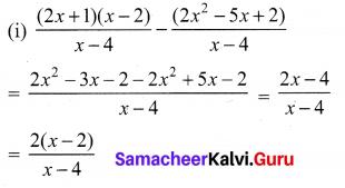10th Maths 3.6 Samacheer Kalvi