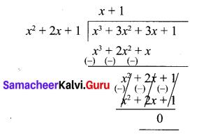 10th Maths Unit Exercise 2 Samacheer Kalvi Chapter 3 Algebra Unit Exercise 3