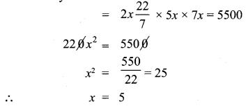 Samacheer Kalvi 10th Class Maths Mensuration Chapter Solutions