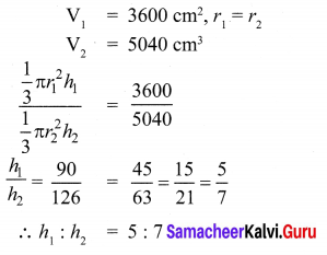 9th Maths Exercise 7.2 Samacheer Kalvi