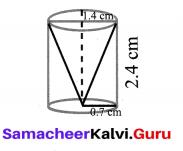 10th Maths Mensuration Exercise 7.3 Samacheer Kalvi