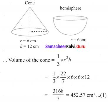 Class 10 Maths Exercise 7.3 Solutions Samacheer Kalvi