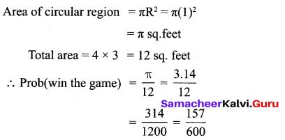 10th Maths Statistics And Probability Samacheer Kalvi