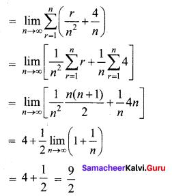 Samacheer Kalvi 12th Business Maths Solutions Chapter 2 Integral Calculus I Ex 2.11 Q1.1