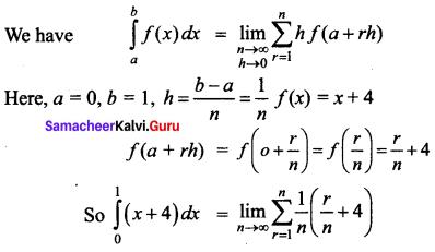 Samacheer Kalvi 12th Business Maths Solutions Chapter 2 Integral Calculus I Ex 2.11 Q1