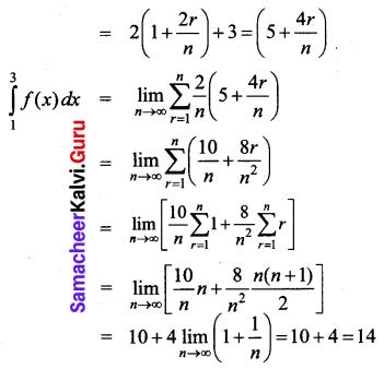 Samacheer Kalvi 12th Business Maths Solutions Chapter 2 Integral Calculus I Ex 2.11 Q3.1