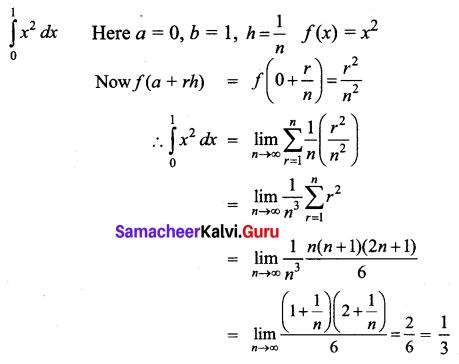 Samacheer Kalvi 12th Business Maths Solutions Chapter 2 Integral Calculus I Ex 2.11 Q4