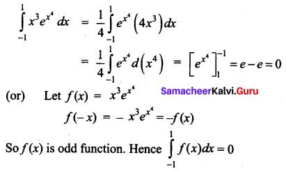 Samacheer Kalvi 12th Business Maths Solutions Chapter 2 Integral Calculus I Ex 2.12 Q17