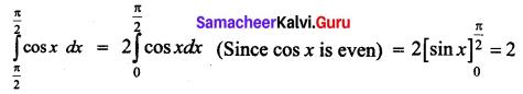 Samacheer Kalvi 12th Business Maths Solutions Chapter 2 Integral Calculus I Ex 2.12 Q19