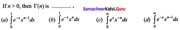 Samacheer Kalvi 12th Business Maths Solutions Chapter 2 Integral Calculus I Ex 2.12 Q28