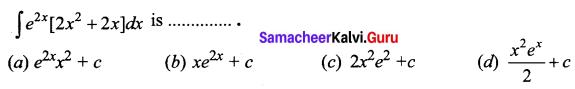 Samacheer Kalvi 12th Business Maths Solutions Chapter 2 Integral Calculus I Ex 2.12 Q8