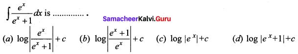 Samacheer Kalvi 12th Business Maths Solutions Chapter 2 Integral Calculus I Ex 2.12 Q9