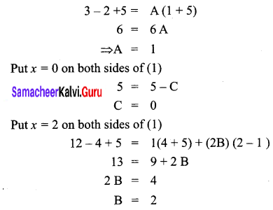 Samacheer Kalvi 12th Business Maths Solutions Chapter 2 Integral Calculus I Ex 2.2 Q7.1