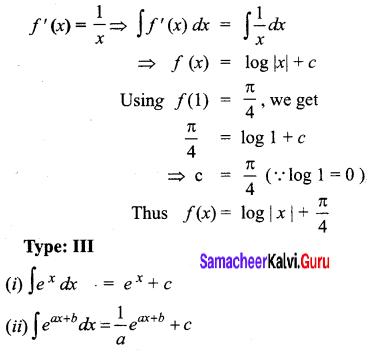 Samacheer Kalvi 12th Business Maths Solutions Chapter 2 Integral Calculus I Ex 2.2 Q8